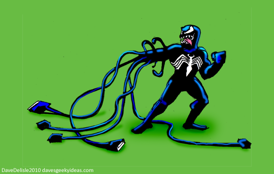 Venom USB Hub Marvel Comics
