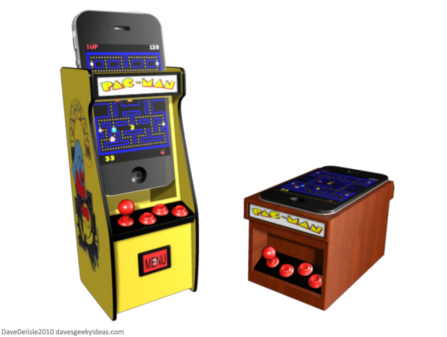 iPhone Arcade Cabinet