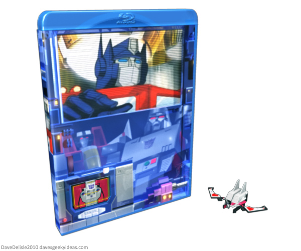 Transformers Blu-Ray Case DVD