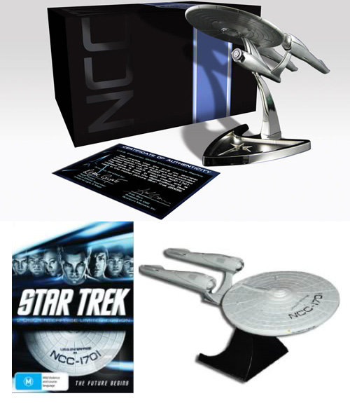 USS Enterprise Replica Blu-Ray Case 2010