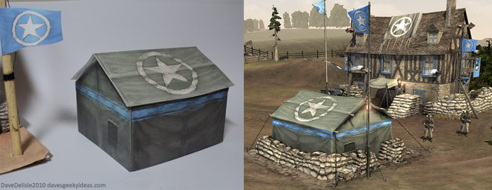 Company Of Heroes Papercraft