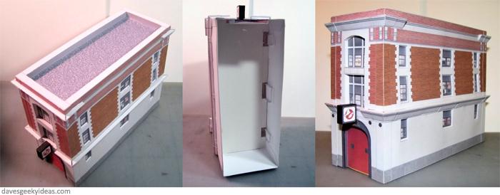 ghostbusters-firehouse Ghostbusters Firehouse Design Model on