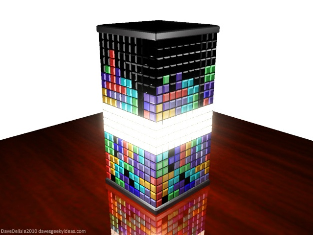 Tetris Lamp 2010 Dave Delisle