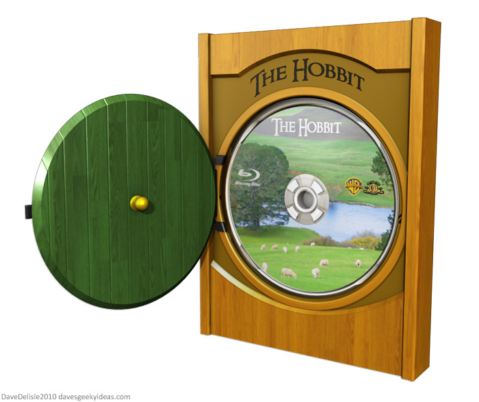The Hobbit Blu-Ray Case Design 2010 Dave Delisle