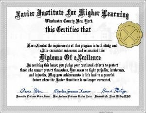 Xavier Institute Diploma X-Men Marvel Comics download print