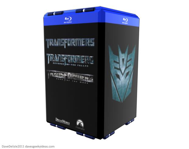 Transformers Blu-Ray DVD Case