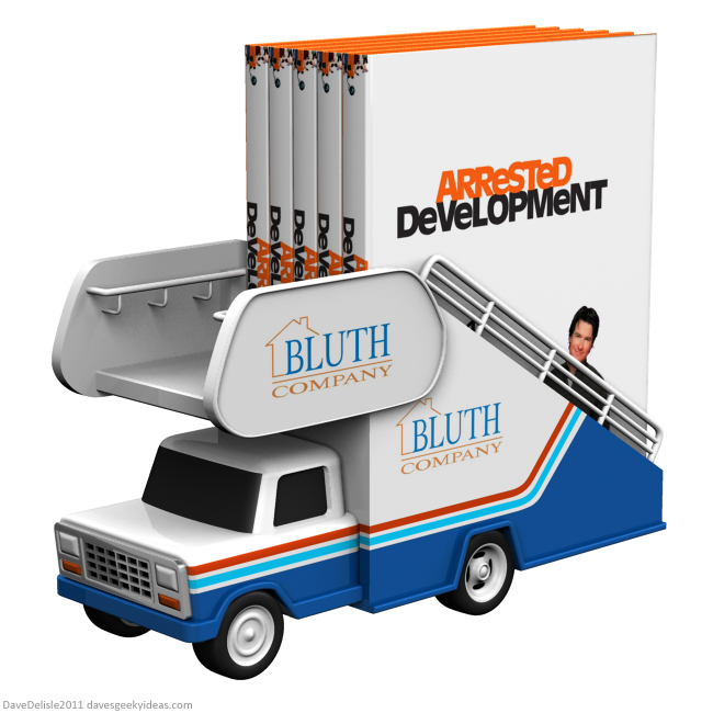 arrested development blu-ray case design by Dave Delisle