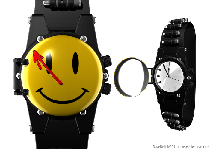 Geeky Wrist Watch Designs 2011 Dave Delisle