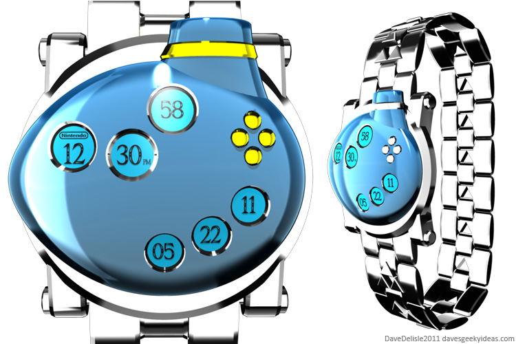 Geeky Wrist Watch Designs 2011 Dave Delisle