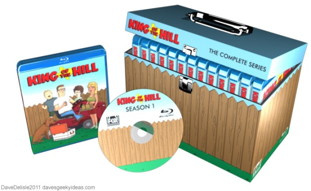 King Of The Hill Blu Ray Case   Dave s Geeky Ideas