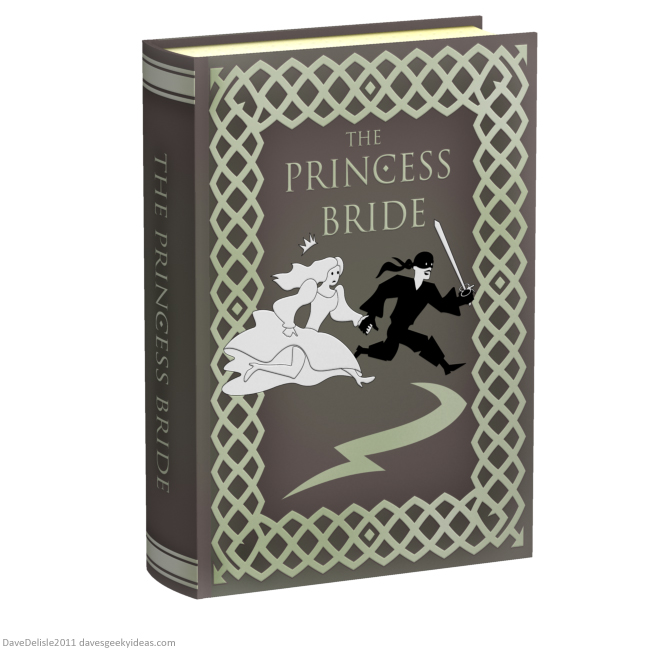 Princess Bride book blu-ray design 2011 dave delisle davesgeekyideas