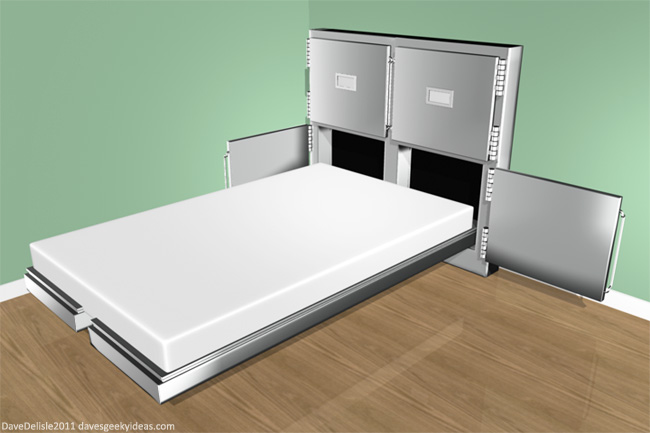 Morgue Zombie Bed