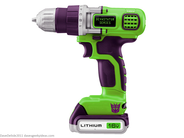 Geeky Power Tools: Constructicons Decepticons