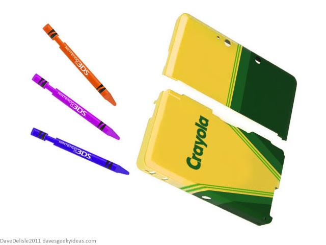 Crayola 3DS Stylus Nintendo Cover