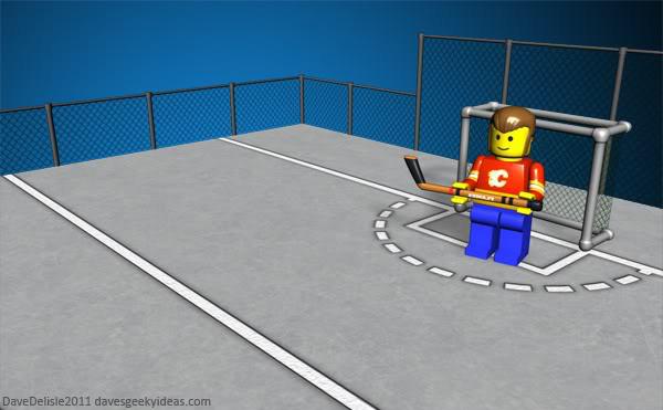 Street Hockey Court Oudoors Dave Delisle davesgeekyideas