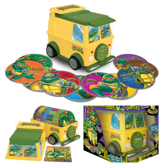 TMNT Party Wagon Blu-Ray Case