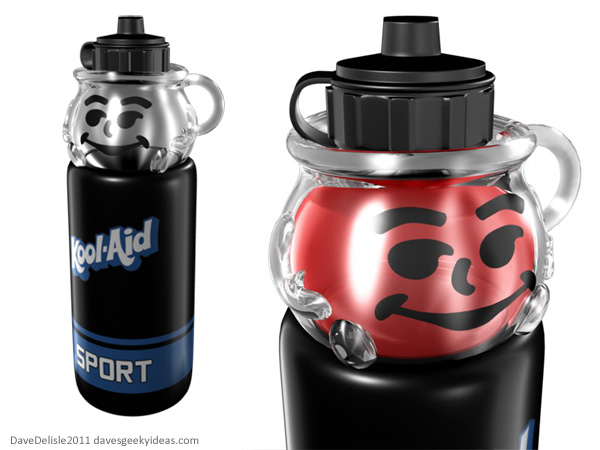 Kool-Aid Man Sports Bottle