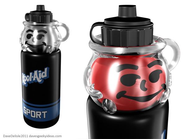 Kool-Aid Man Sports Bottle