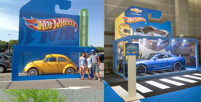 Hot Wheels Car Packaging Life Size