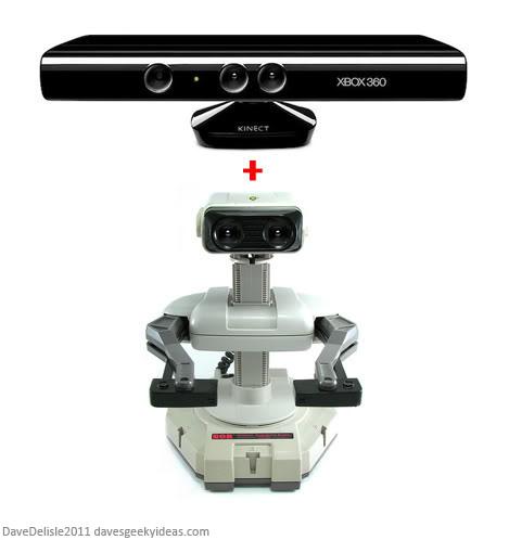 Nintendo R.O.B. Microsoft Kinect
