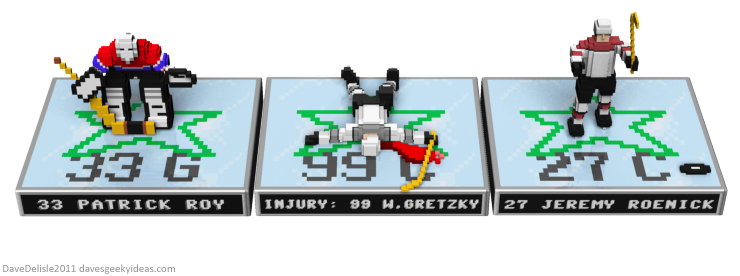 NHL 94 Figurines design by Dave Delisle davesgeekyideas