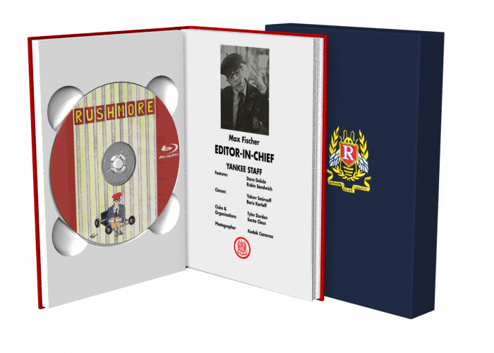 Rushmore Blu-Ray case design by davesgeekyideas