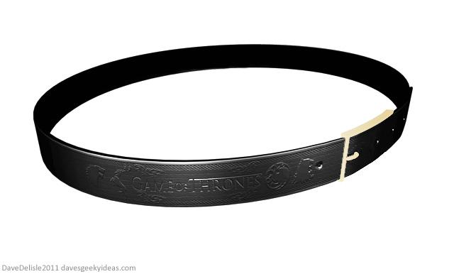 Game Of Thrones Leather Belt Design