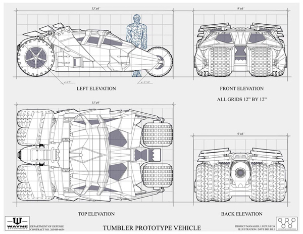 Tumbler Blueprint by Dave's Geeky Ideas
