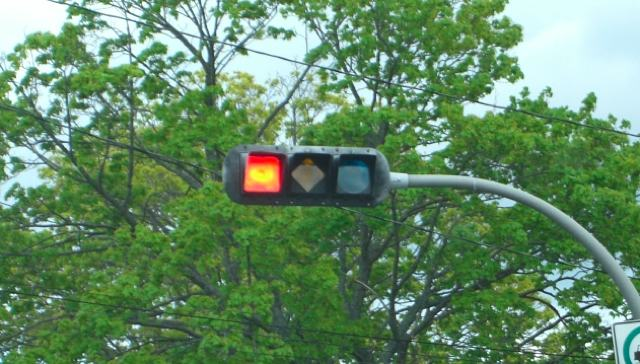 Colorblind traffic lights