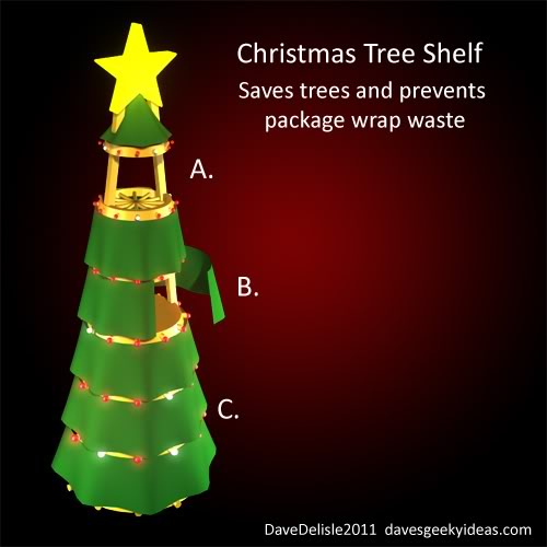 Geeky Xmas Tree Idea