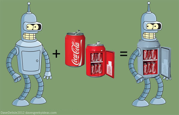Bender Futurama Fridge