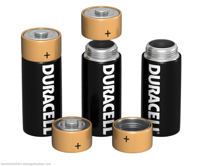 Duracell Battery coppertop thermos coffee 2012 dave delisle davesgeekyideas dave's geeky ideas