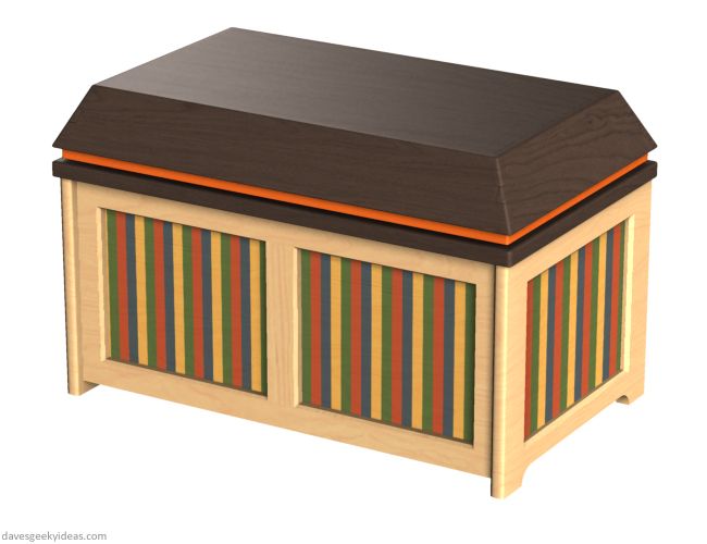 Toys R Us Toy Chest design by Dave Delisle davesgeekyideas