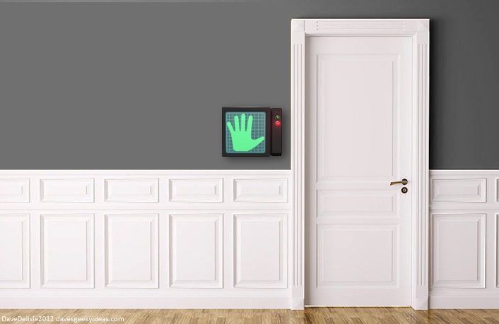 Hand Scanner by Dave Delisle