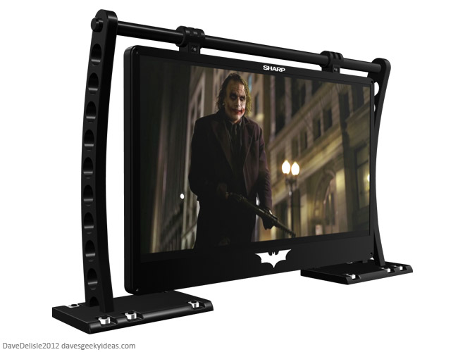 Dark Knight TV Geeky Design Dave Delisle davesgeekyideas.com