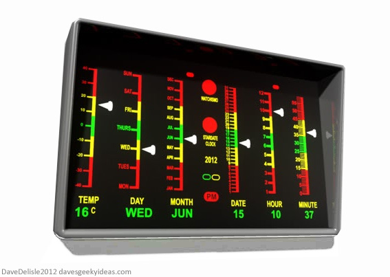 Star Trek Clock 2012