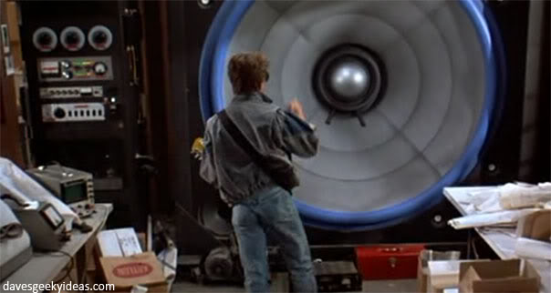 Back To The Future Speaker Amp