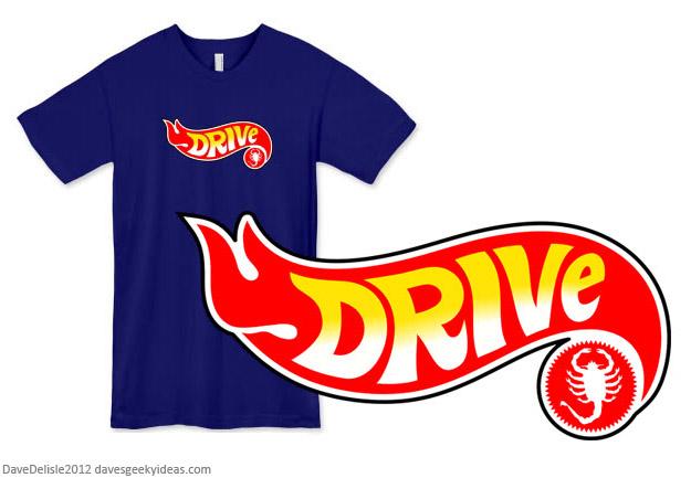Drive Hot Wheels T-Shirt 2012
