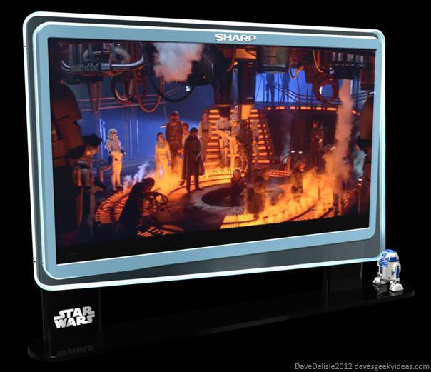 Star Wars R2D2 Projector TV 2012 Dave Delisle davesgeekyideas.com