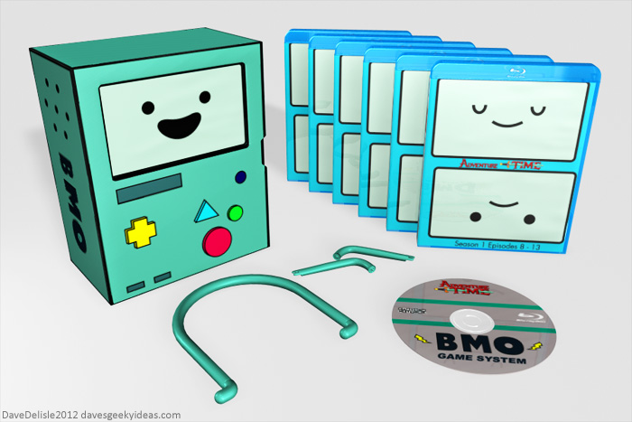 Adventure Time Beemo Blu-Ray Case 2012 Dave Delisle