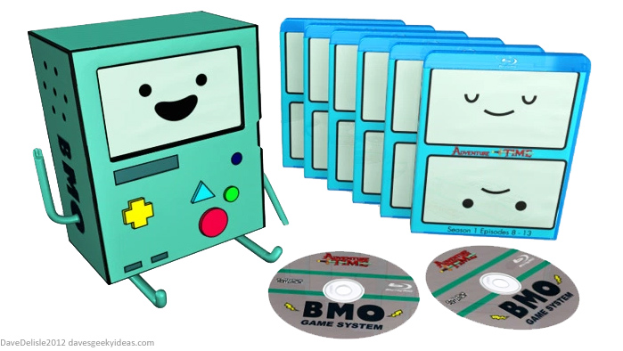 Adventure Time blu-ray case design by Dave's Geeky Ideas