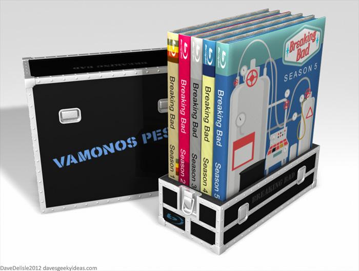 Breaking Bad Vamonos Pest Blu-Ray Case
