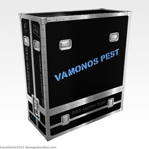 Breaking Bad Vamonos Pest Blu-Ray Case