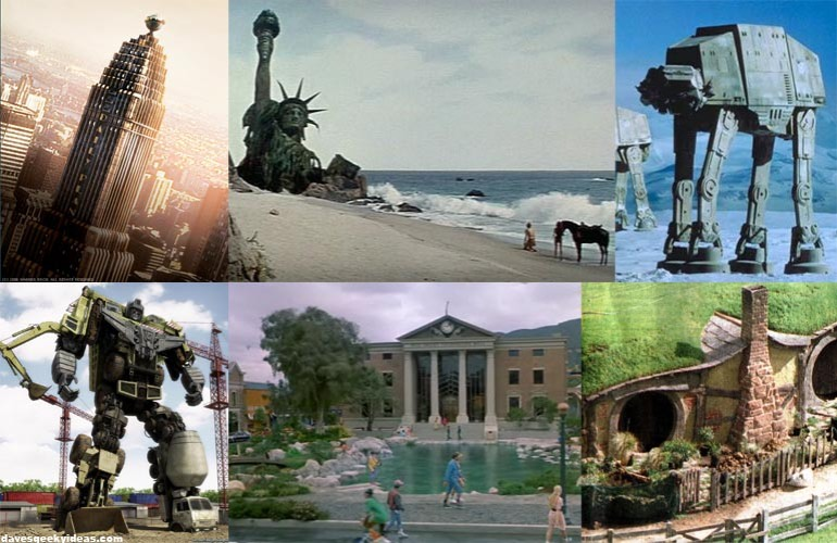 Geeky  Landmarks Statues Places Destinations