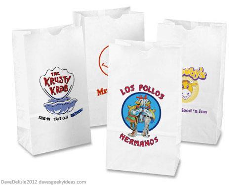Geeky Paper Bags