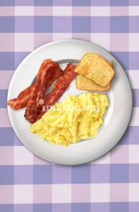 Ron Swanson's Breakfast Poster