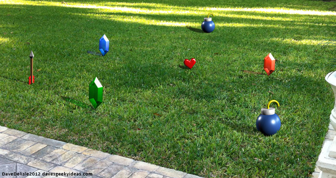 zelda lawn ornaments dave s geeky ideas