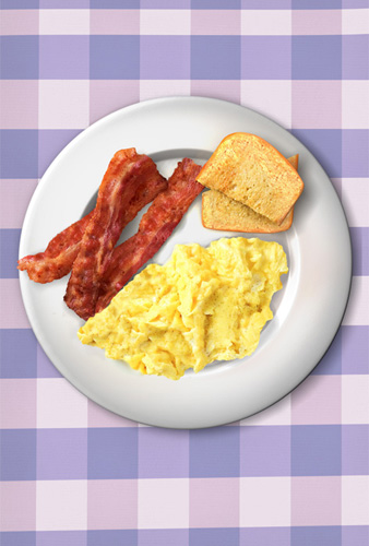 Ron Swanson's Bacon And Eggs Breakfast Poster – Dave's ...