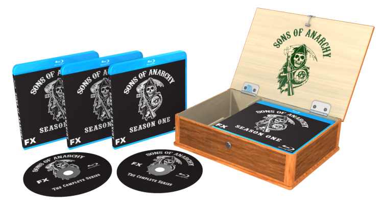 Sons Of Anarchy Blu Ray Box Deutsch
