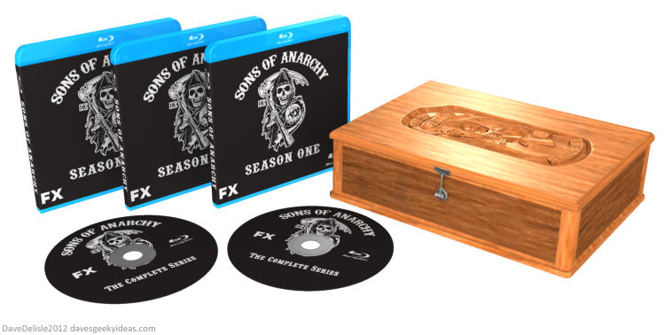 Sons of Anarchy box set design by Dave Delisle